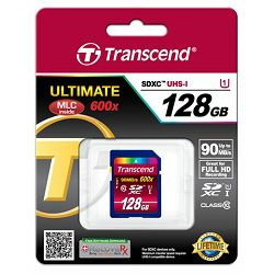 Memorijska kartica Transcend SD 128GB SDXC Class 10, UHS-I