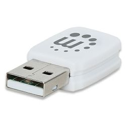 Micro 150N Wireless Adapter, 150 Mbps, 802.11b/g/n, USB 2.0 Low-Profile Wireless Network Adapter