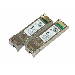 MikroTik pair of SFP (10Gbit) modules, 10K, for single optical cable