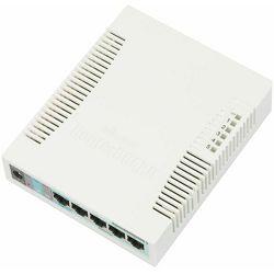 Mikrotik 5P Gig Smart Switch