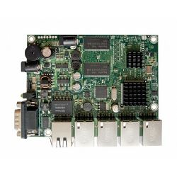 MikroTik five port Gigabit ethernet RouterBoard