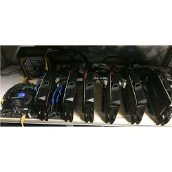 Mining Rig GTX1060 135 MH/s - ETH + PASCAL (Dual mining) - mala potrošnja