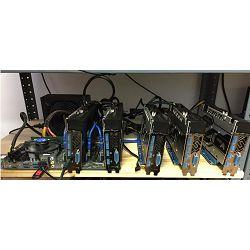 Mining Rig RX580 150 MH/s ETH
