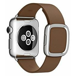 mj542zm/a - Apple Watch 38mm Band: Brown Modern Buckle - Small - 888462180405