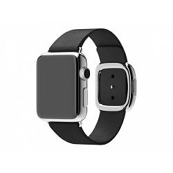 mjy82zm/a - Apple Watch 38mm Band: Black Modern Buckle - Medium - 888462180603