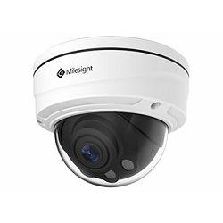 Milesight 3MP Full HD Remote Focus Zoom Network IR Dome Camera