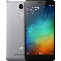 Mobitel Xiaomi Redmi Note 3, 2GB/16GB, sivi