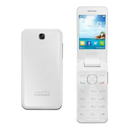 Mobitel Alcatel OT-2012 DS, bijeli