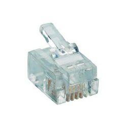 Modularni utikač 6P,4C (RJ11) za plosnati kabel