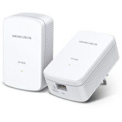 Mercusys AV1000 Powerline Gigabit mrežni adapter, 1000Mbps, HomePlug AV2 (duplo pakiranje)