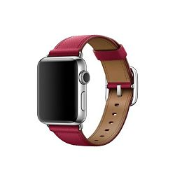 mpwm2zm/a - Apple Watch 38mm Band: Berry Classic Buckle - 190198376756