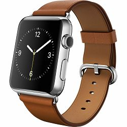 mpwt2zm/a - Apple Watch 42mm Band: Saddle Brown Classic Buckle - 190198376909