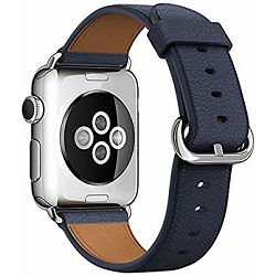 mpwv2zm/a - Apple Watch 42mm Band: Midnight Blue Classic Buckle - 190198376954