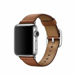 mpx12zm/a - Apple Watch 42mm Band: Taupe Classic Buckle - 190198377050