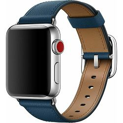 mqv02zm/a - Apple Watch 38mm Band: Cosmos Blue Classic Buckle - 190198579744