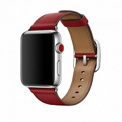 mr392zm/a - Apple Watch 38mm Band: Ruby (PRODUCT)RED Classic Buckle - 190198625618