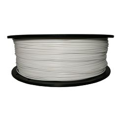 Filament for 3D, ABS, 1.75 mm, 1 kg, white