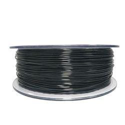 Filament for 3D, PET-G, 1.75 mm, 1 kg, black