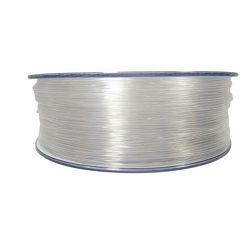 Filament for 3D, PET-G, 1.75 mm, 1 kg, transparent