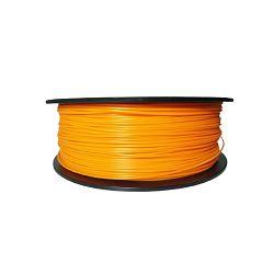 Filament for 3D, PLA, 1.75 mm, 1 kg, orange