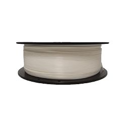 Filament for 3D, PLA, 1.75 mm, 1 kg, pearl white