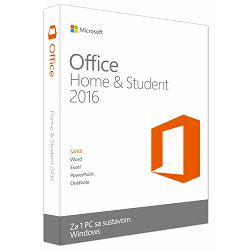 Office Home&Student 2016 Cro Medialess
