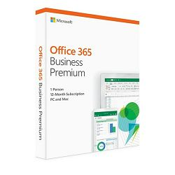 MS O365 Business Premium Cro retail Medialess 1 g.