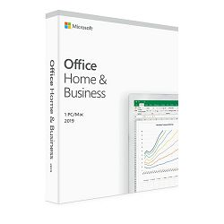 MS Office Home and Business 2019 Cro Medialess