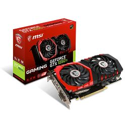 Grafička kartica MSI GF GTX 1050Ti Gaming X, 4GB GDDR5, DX12