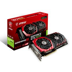Grafička kartica MSI GF GTX 1070 Gaming X, 8GB GDDR5X, DX12