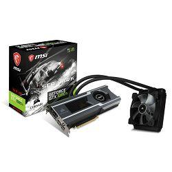 Grafička kartica MSI GF GTX 1080Ti Sea Hawk X, 11GB