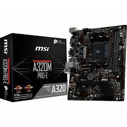 MSI A320M PRO-E, AM4, DDR4, U3,mATX