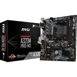 Matične ploče MSI A320M PRO-M2, AM4, DDR4, m.2,U3,mATX