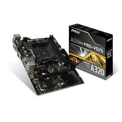 Matična ploča MSI A320M Pro-VD/S, AM4, DDR4, mATX