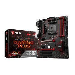 Matična ploča MSI B350 Gaming Plus, AM4, DDR4, U3, m.2, ATX