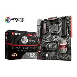 Matična ploča MSI B350 Tomahawk Plus, AM4, DDR4, U3, m.2, ATX