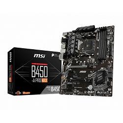 Matična ploča MSI B450-A Pro MAX, AM4, DDR4, U3, m.2, ATX