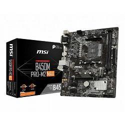 Matična ploča MSI B450M PRO-M2 MAX, AM4, DDR4, U3, m.2, mATX