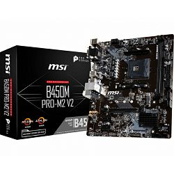 Matična ploča MSI B450M PRO-M2 V2, AM4, DDR4, U3, m.2, mATX