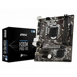 Matična ploča MSI H310M PRO-VD, LGA1151, D4,S3,U3, mATX