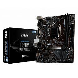 Matična ploča MSI H310M PRO-VD PLUS, LGA1151, D4,S3,U3, mATX