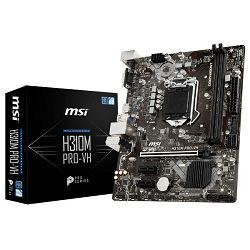 Matična ploča MSI H310M PRO-VH, LGA1151, D4,S3,U3, mATX