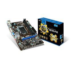 Matična ploča MSI H81M-P33,1150,D3,S3,U3,DVI,VGA,mATX