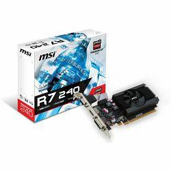 Grafička kartica MSI R7 240 1GD3 64b LP 1024MB,PCI-E,DVI,HDMI,LP