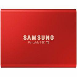 Samsung SSD T5 External 1TB 450 MB/s USB 3.1, 3 yrs, red