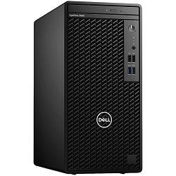 DELL OptiPlex 3080MT, w/260W, Intel Core i3-10100(6MB Cache, 4 Cores, 8 Threads, 3.6 GHz to 4.3 GHz), 8GB(1 x 8 GB, DDR4, 2666 MHz), M.2 256 GB NVMe SSD, Intel integrated,DP, HDMI, Speaker, intrusion,