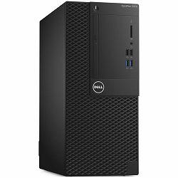 Računalo Dell OptiPlex 3050 Mini Tower BTX, Intel Core i3-7100 (DC/3MB/4T/3.9GHz/65W), 4GB 2400MHz DDR4 , 3.5