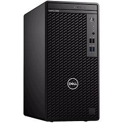 Računalo DELL OptiPlex 3080 Tower BTX w/260W, Intel Core i5-10500, 8GB (1x8GB) DDR4 non-ECC, M.2 256GB PCIe NVMe, Intel Integrated Graphics, TPM, 8x DVDRW, no WLAN, Speaker, KB+M, Win10Pro, 3Y