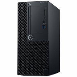 DELL OptiPlex 3060 MT with 260W up to 85% efficient PS, Intel Core i5-8500 (6 Cores/9MB/6T/up to 4.1GHz/65W), 4GB 2666MHz DDR4, 3.5in 1TB 7200rpm SATA HDD, 8x DVD+/-RW 9.5mm ODD, Intel HD, No WiFi, No