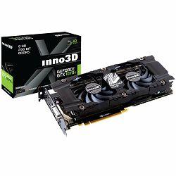 Grafička kartica Inno3D Video Card GeForce GTX 1070 Ti X2 V2(1607Mhz/8.0Gbps) / 8GB GDDR5 / 256-bit / Dual DVI + DP + HDMI / VA10C / GP104F8521